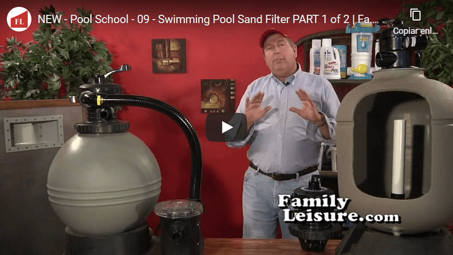 Swimming Pool Sand Filter Systems in Spain and Portugal - how do they work?