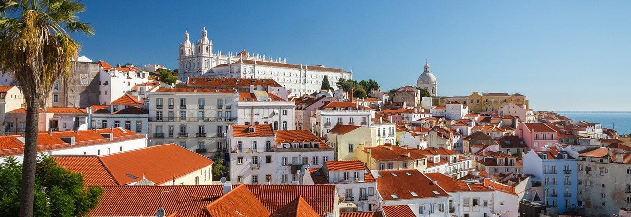Lisbon City Skyline
